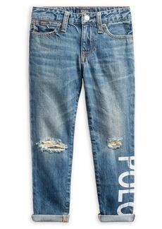 Ralph Lauren Little Girl's Astor Slim Jeans