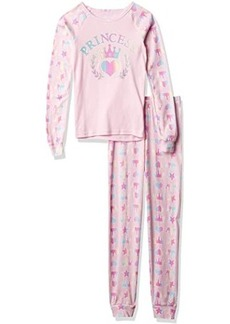 The Children's Place Long Sleeve Top and Pants Pajama Set (Little Kids)