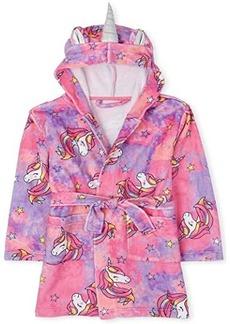 The Children's Place Mommy and Me Unicorn Tie-Dye Fleece Robe (Little Kids/Big Kids)