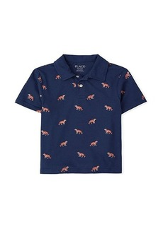 The Children's Place Short Sleeve Printed Polo (Little Kids/Big Kids)