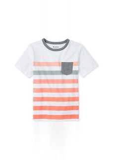 The Children's Place Striped Pocket Top (Little Kids)