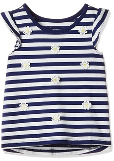 The Children's Place Baby Girls' Toddler Ruffle Sleeve Top