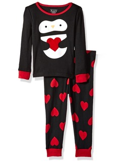 The Children's Place Baby Top and Pants Pajama Set