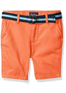 The Children's Place Big Boys' Belted Short