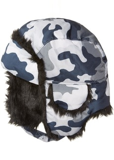 The Children's Place Big Boys' Camoflauge Trapper Cold Weather Hat  L/XL(8+Yr)
