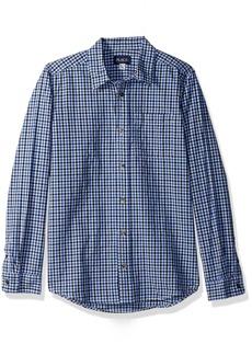 The Children's Place Big Boys' Check Oxford Shirt  M (7/8)