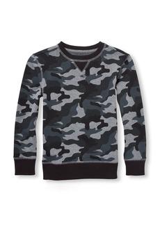 The Children's Place Big Boys' Crewneck Fleece Sweatshirt  L (10/12)