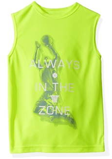 The Children's Place Boys' Big Graphic Active Muscle Top