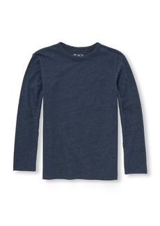 The Children's Place Big Boys' Long Sleeve Speckled Tee Shirt  S (5/6)