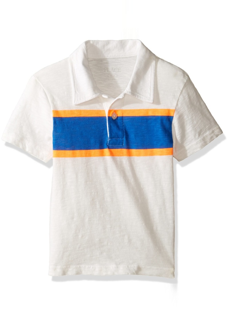 The Childrens Place The Childrens Place Big Boys Polo Shirt With