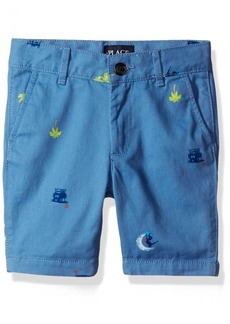 The Children's Place Big Boys' Printed Short