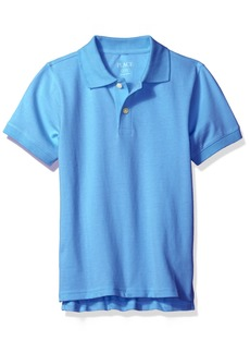 The Children's Place Boys' Big Short Sleeve Pique Polo