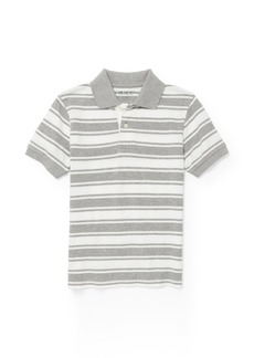 The Children's Place Big Boys' Short Sleeve Yarn Dye Polo  L (10/12)
