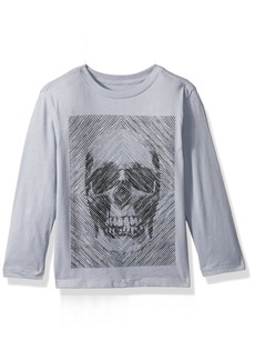 The Children's Place Big Boys' Skull Graphic Tee  S (5/6)