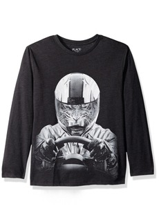 The Children's Place Big Boys' Sport Graphic Tee  S (5/6)