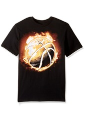 The Children's Place Big Boys' Sports Graphic Tee  S (5/6)