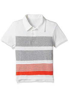 The Children's Place Big Boys' Striped Polo Shirt  XS (4)