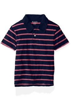The Children's Place Big Boys' Thin Stripe Polo Shirt  XL (14)