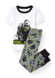 The Children's Place Big Boys' Top and Pants Pajama Set