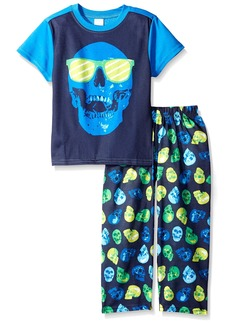 The Children's Place Big Boys' Top and Pants Pajama Set 2
