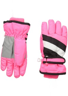 The Children's Place Big Girls 3-In-1 Snow Gloves Prima Pink