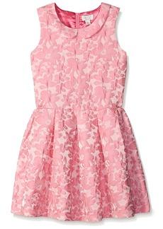 The Children's Place Big Girls Collar Dress Pink Blast