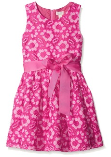 The Children's Place Big Girls Eyelet Lace Dress Enchanted