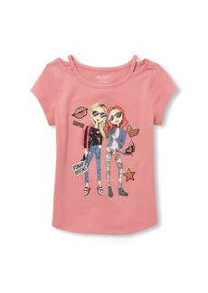 The Children's Place Big Girls' Fashion Neck Top  L (10/12)