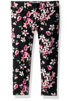 The Children's Place Big Girls' Floral Printed Denim Jeggings