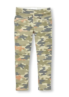 The Children's Place Big Girls' Glitter CAMO Jegging
