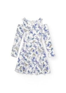 The Children's Place Big Girls' Long Sleeve Casual Dress  S (5/6)