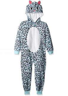 The Children's Place Big Girls' Long Sleeve One-Piece Pajamas