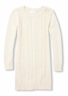 The Children's Place Big Girls Long Sleeve Sweater Dress