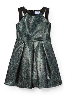 The Children's Place Big Girls' Multi Colored Jacquard Dress
