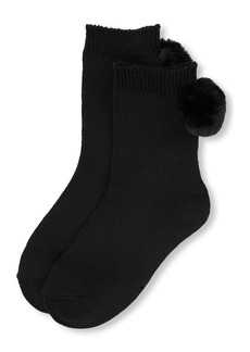 The Children's Place Big Girls' Novelty Crew Sock