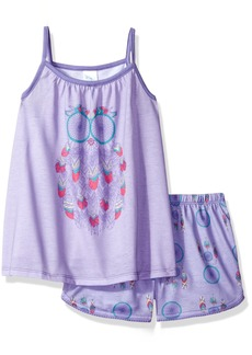 The Children's Place Big Girls Pajama Set -  - Purplribn
