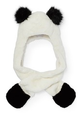 The Children's Place Big Girls' Panda Hat and Scarf Cold Weather Set