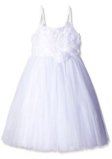 The Children's Place Big Girls White Party Dress White