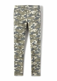 The Children's Place Big Girls' Printed Destructed Jeggings