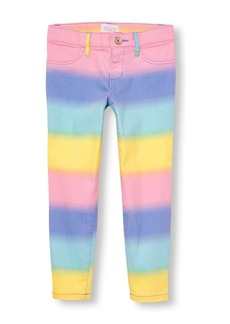 The Children's Place Big Girls' Rainbow Ombre Jeggings