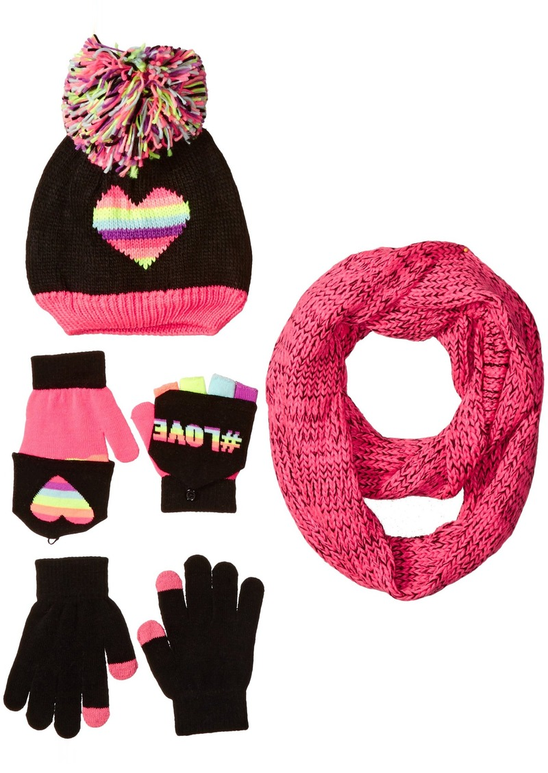 The Children's Place Big Girls Scarf Hat and Glove Set