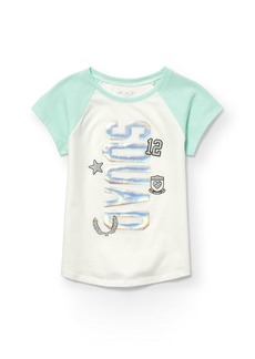 The Children's Place Big Girls' Short Sleeve Active Top  M (7/8)
