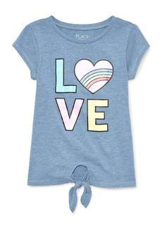 The Children's Place Big Girls' Short Sleeve Active Top  S (5/6)