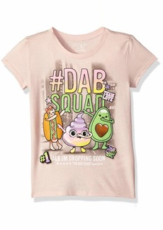 The Children's Place Big Girls' Short Sleeve Graphic Tees Rose dust M (7/8)