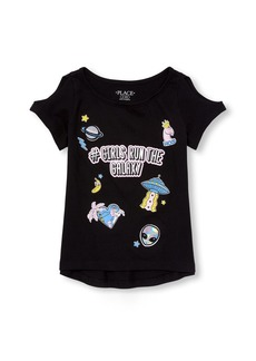 The Children's Place Big Girls' Short Sleeve Graphic Tees  S (5/6)