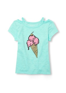 The Children's Place Big Girls' Short Sleeve Top  S (5/6)