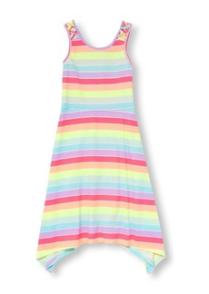 The Children's Place Big Girls' Sleeveless Casual Dress PRAIRIEROSENEON 5687 XS (4)