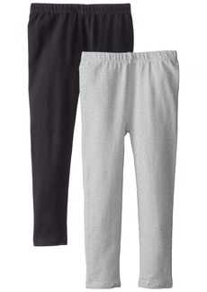 The Children's Place Big Girls'  Solid Legging (Pack of 2)