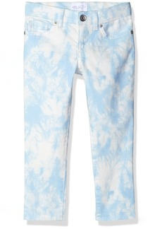 The Children's Place Big Girls' Tie Dye Denim Jeggings Party Blue 401