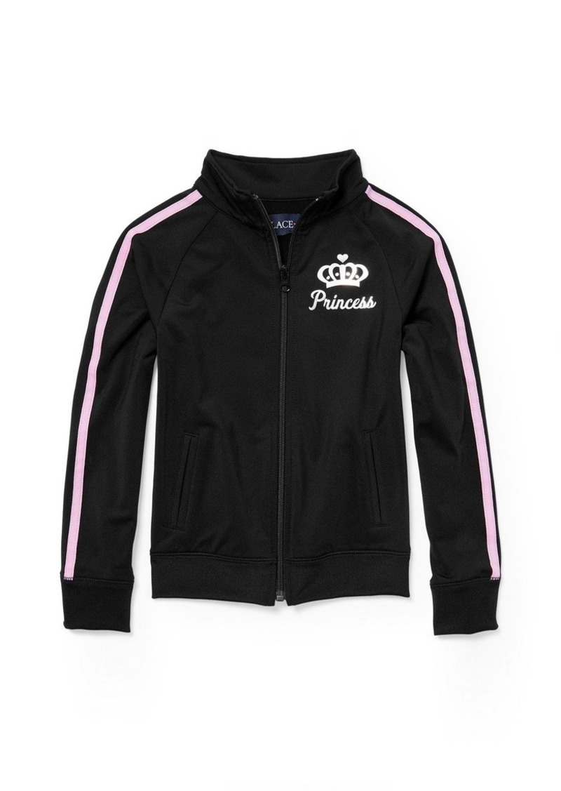 The Children's Place Big Girls' Track Jacket  L (10/12)